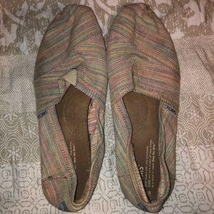 Tom's Multi Color Canvas Shoes